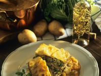 Potato and Beef Casserole with Savoy Cabbage recipe