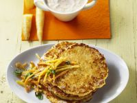 Potato and Carrot Pancakes recipe