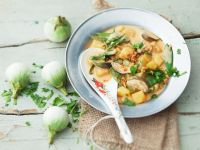 Potato and Eggplant Curry recipe