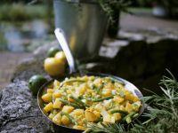 Potato and Green Bean Skillet with Lemon recipe