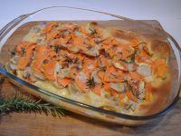 Potato and Jerusalem Artichoke Gratin recipe