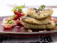 Potato and Kohlrabi Fritters recipe