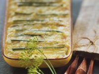Potato and Leek Gratin with Reblochon Cheese recipe
