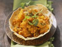 Potato and Lentil Dhal recipe