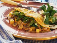 Potato and Mushroom Crepes recipe
