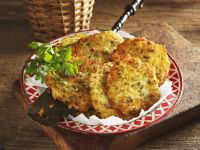 Potato and Parsnip Fritters recipe