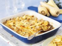 Potato and Parsnip Gratin recipe