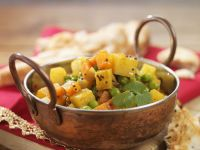Potato and Pea Curry recipe