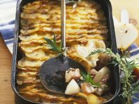 Potato and Pear Gratin recipe