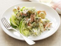 Potato and Salmon Salad with Dill recipe