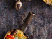 Potato and Sausage Gratins recipe