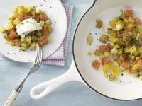 Potato and Smoked Salmon Hash recipe