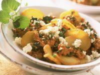 Potato and Spinach Saute recipe