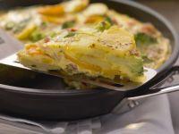 Potato and Vegetable Omelette recipe