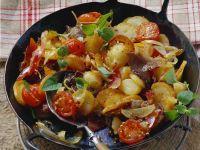 Potato, Bacon and Beef Saute recipe