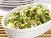 Potato Brussels Sprout Casserole recipe