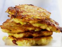 Potato Cakes with Leek recipe