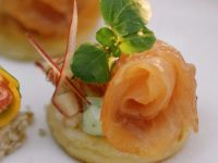 Potato Cakes with Salmon recipe
