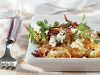 Potato-Carrot Pancake with Gorgonzola recipe