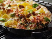 Potato Casserole with Ground Meat recipe