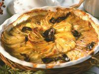 Potato Casserole with Mushrooms recipe
