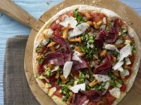 Potato-Chanterelle Pizza