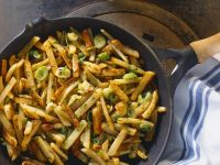 Potato Dish with Scallions recipe