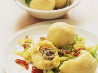 Potato Dumplings with Sausage Stuffing recipe
