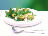 Potato, Feta and Herb Salad recipe