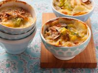 Potato Gratin with Leeks and Hazelnuts recipe