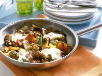 Potato Hash with Mushrooms recipe