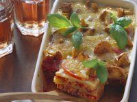 Potato Lasagna with Chanterelles recipe