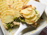 Potato & Leek Gratin recipe