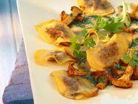 Potato-mushroom Ravioli recipe