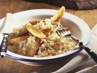 Potato Noodles and Sauerkraut recipe