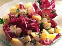 Potato-onion Salad with Radicchio recipe