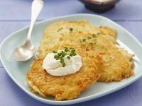 Potato Pancakes with Cream Cheese recipe