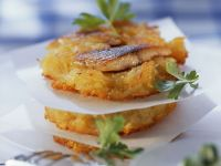 Potato Pancakes with Herring recipe