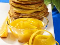 Potato Pancakes with Pineapple Compote recipe