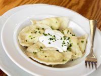 Potato Pirogues recipe