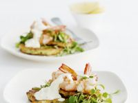 Potato Fritters with Shrimps recipe