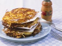 Potato Rosti Cakes recipe
