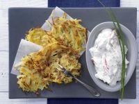 Potato Rosti with Herb Quark recipe