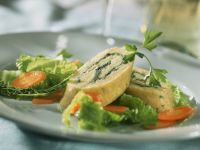 Potato Roulade with Ham and Vegetable Filling recipe