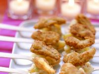 Mini Potato Party Appetisers recipe