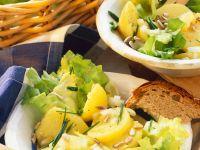 Potato Salad with Endive recipe