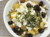 Potato Salad with Feta Cheese recipe