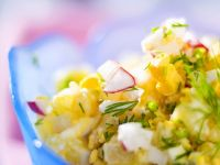Potato Salad with Fresh Herbs and Eggs recipe