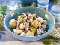 Potato and Mushroom Salad recipe