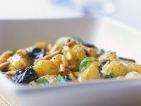 Potato Salad with Pine Nuts recipe